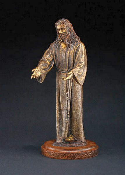 Walk With Me a Maquette Bronze Sculpture Allegory by James Muir